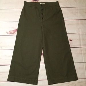 New Madewell pants size 31 cropped pants